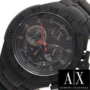 アルマーニエクスチェンジ腕時計 [ArmaniExchange時計](Armani Exchange 腕時計 アルマーニ エクスチェンジ 時計) クロノグラフ メンズ時計 ブラック AX1187 [エレガント カジュアル アルマーニ 時計 ギフト プレゼント][おしゃれ][ おしゃれ ブランド ]