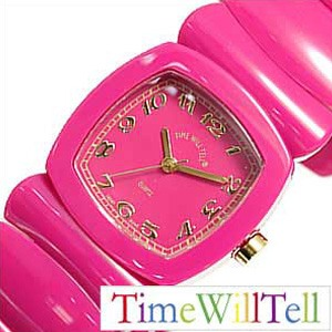 タイムウィルテル腕時計 [TimeWillTell時計](Time Will Tell 腕時計 タイム ウィル テル 時計 ) モノトーン フクシャ (MONOTONE Fuchsia ) レディース時計 ピンク [ギフト プレゼント ご褒美][おしゃれ 防水 ]
