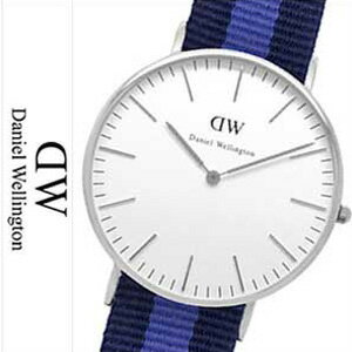 ダニエルウェリントン腕時計 DanielWellington時計 Daniel Wellington 腕時計 ダニエル ウェリントン 時計 クラシック スウォンジ シルバー CLASSIC 36mm ホワイト 0603DW 革ベルト [北欧 スウェーデン 人気][クリスマス プレゼント x'mas ギフト][おしゃれ 腕時計]