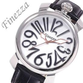 [あす楽]フィネッツァ腕時計 Finezza時計 Finezza 腕時計 フィネッツァ 時計 レディース ホワイト 革 ビッグケース 40MM レザー 大きめシルバー レディース時計 レディース腕時計 レディース [かわいい 腕時計 トレンド][おしゃれ 防水 ] 誕生日 冬ギフト