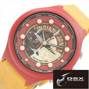 ジーエスエックス腕時計 GSX時計 GSX 腕時計 ジーエスエックス 時計 インディ ジョーンズ GSX-SMARTSTYLE-46 [コラボ Adventure 数量限定 純国産 日本製 SMARTstyle #46 ギフト プレゼント ご褒美][おしゃれ 腕時計]