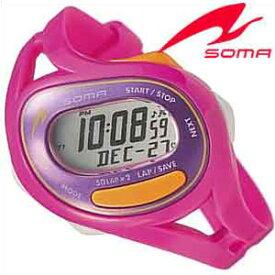 セイコーソーマ腕時計 SEIKOSOMA時計 SEIKO SOMA 腕時計 セイコー ソーマ 時計 ラン ワン Run ONE シルバー×パープル DWJ23-0006 [ランニング シンプル おしゃれ ブランド 防水 ] 誕生日 新生活 プレゼント ギフト