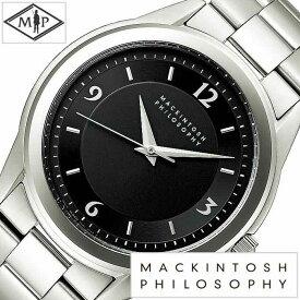 セイコー時計 SEIKO腕時計 SEIKO 時計 セイコー 腕時計 マッキントッシュ フィロソフィー MACKINTOSH PHILOSOPHY メンズ ブラック FBZT992 [ 正規品 人気 デザイン ギフト プレゼント ご褒美][ おしゃれ ブランド ]