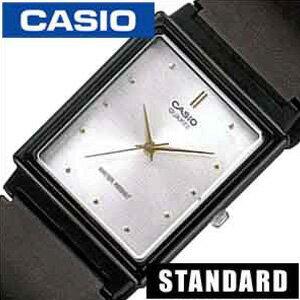 [インスタ チープカシオ プチプラ] カシオカシオ腕時計 CASIO時計 CASIO 腕時計 カシオ 時計 スタンダード ベーシック STANDARD BASIC ANALOGUE メンズ シルバー MQ-38-7A[アナログ クラシック シンプル スクエア 海外モデル ブラック 銀 黒][初売 プレゼント ギフト]