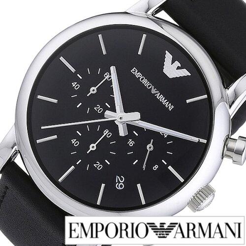 53f2fa0602 エンポリオアルマーニ 時計 (EMPORIOARMANI 腕時計) エンポリオ アルマーニ (EMPORIO ARMANI) アルマーニ時計 [ アルマーニ arumani] クラシック Classic メンズ ...