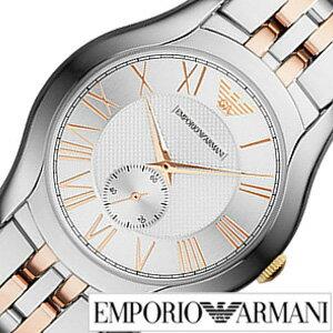 エンポリオアルマーニ 時計 (ARMANI 腕時計 ) エンポリオ アルマーニ (EMPORIO ARMANI ) アルマーニ時計 [アルマーニ arumani] バレンテ メンズ シルバー AR1824 [人気 新作 ブランド ビジネス バーゲン プレゼント ギフト ピンク ゴールド エンポリ]