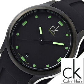 c897475712 カルバンクライン腕時計 CalvinKlein時計 Calvin Klein 腕時計 カルバン クライン 時計 ビジブル Visible メンズ  ブラック K2V214DX