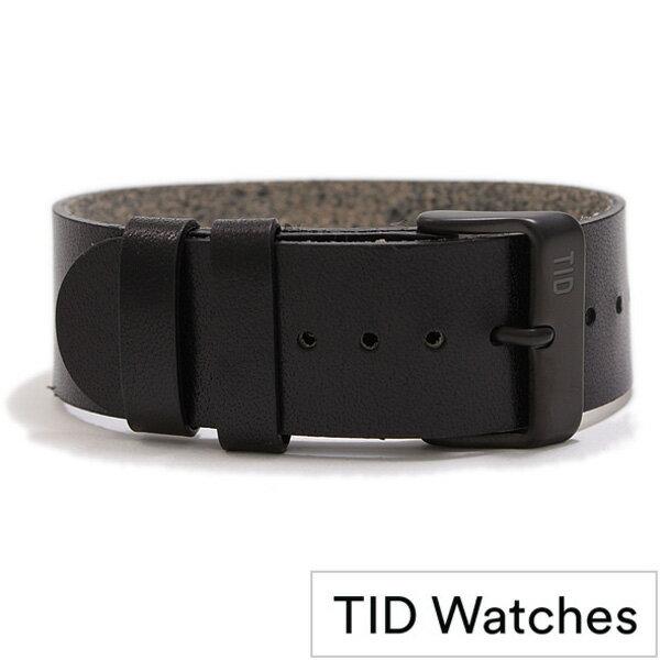 [ティッドウォッチズ]ティッドウォッチ替えベルト TIDWatchesベルト TID Watches 替えベルト ティッド ウォッチ ベルト TID-BELT-BK [新作 ブランド 人気 プレゼント 革 替えベルト 北欧 ブラック インスタ モデル 人気 ][おしゃれ 腕時計]