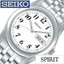 セイコー腕時計 SEIKO時計 SEIKO 腕時計 セイコー 時計 スピリット SPIRIT メンズ/ホワイト SCXC009 [メタル ベルト/…
