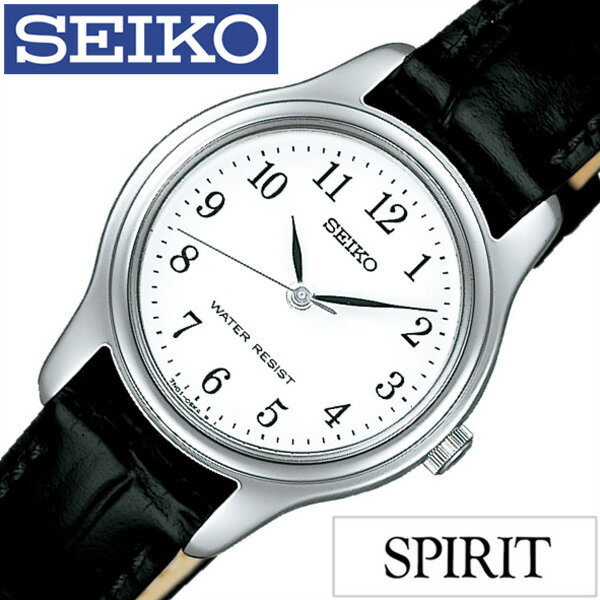 セイコー腕時計 SEIKO時計 SEIKO 腕時計 セイコー 時計 スピリット SPIRIT レディース ホワイト SSXP003 [革 ベルト 正規品 限定 防水 ブラック シルバー シンプル ペアモデル ギフト プレゼント ご褒美][おしゃれ 腕時計]
