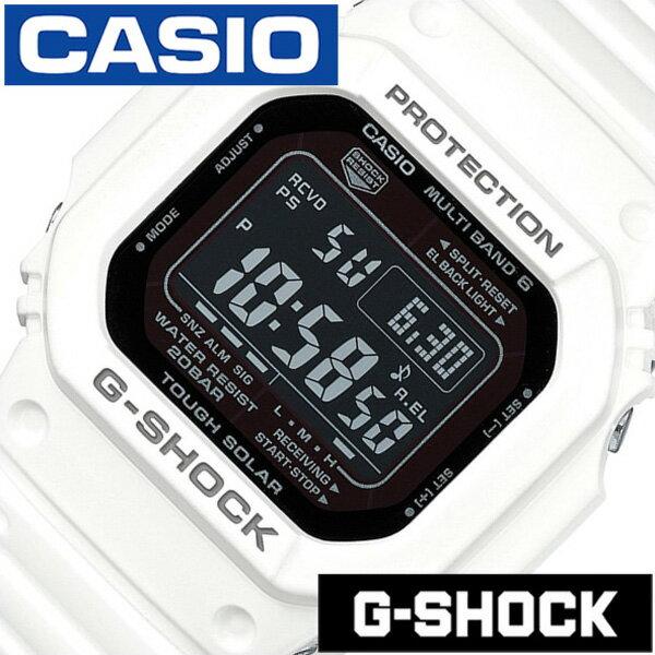 Gショック 白 Gshock g-shock G-ショック 腕時計 時計 メンズ ブラック GW-M5610MD-7JF[デジタル タフ ソーラー 電波 時計 ストップ ウォッチ ホワイト スポーツウォッチ トレーニング 登山 マラソン ランニング ジム][バーゲン プレゼント ギフト]