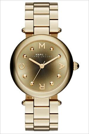 マークバイマークジェイコブス腕時計[MARCBYMARCJACOBS時計]マークジェイコブス時計[MARCBYMARCJACOBS腕時計]マークバイマークジェイコブス時計ドッティDOTTYレディース/ブラック/ゴールドMJ3448[新作/人気/ブランド/防水/メタルベルト][送料無料]