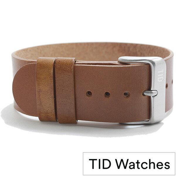 [ティッドウォッチズ]ティッドウォッチ替えベルト TIDWatchesベルト TID Watches 替えベルト ティッド ウォッチ ベルト メンズ レディース ユニセックス 男女兼用 - TID02-BELT-T [革 ベルト 正規品 防水 替えベルト 北欧 ブラック シルバー 通販][おしゃれ 腕時計]