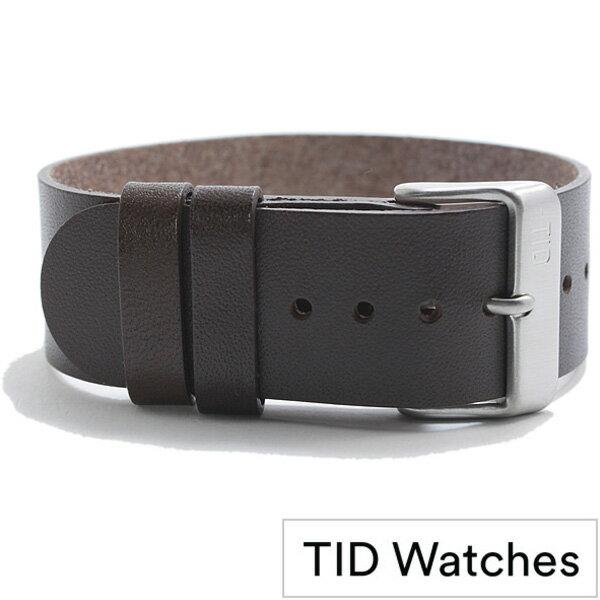 [ティッドウォッチズ]ティッドウォッチ替えベルト TIDWatchesベルト TID Watches 替えベルト ティッド ウォッチ メンズ レディース 男女兼用 - TID02-BELT-W[革 正規品 替えベルト 北欧 ブラック ダークブラウン シルバー プレゼント ギフト][ おしゃれ ブランド 防水 ]