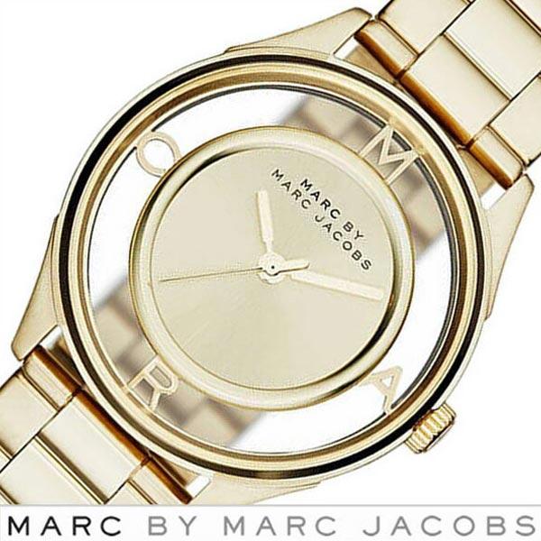 マークバイマークジェイコブス 腕時計[MARCJACOBS 時計]マーク バイ マーク ジェイコブス 時計[MARC BY MARC JACOBS 腕時計 マークジェイコブス]ティザー Tether レディース ゴールド MBM3413 [人気 ブランド 防水 メタル ベルト スケルトン][おしゃれ 腕時計]