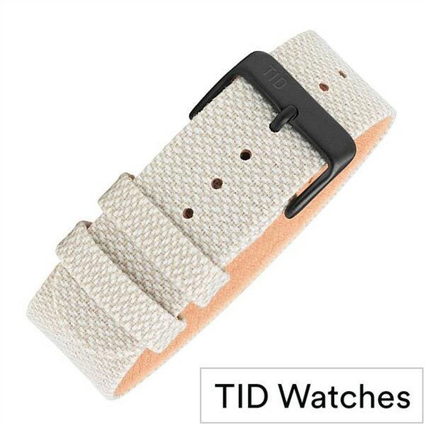 ティッドウォッチズ 時計ベルト[TIDWatches]ティッド ウォッチズ[TID Watches 腕時計ベルト]クヴァドラ Kvadrat Twain wristbands メンズ レディース TID-BELT-SAND[替えバンド 交換用 替えベルト 付け替え 交換 腕時計 革 レザー ストラップ バンド プレゼント ギフト]