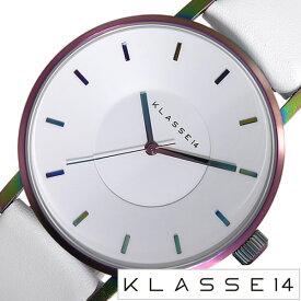 クラス14 腕時計[KLASSE14 時計]クラス フォーティーン 時計[KLASSE 14 腕時計]ヴォラーレ VOLARE MARIO NOBILE メンズ レディース ホワイト VO16TI003M [新作 人気 流行 ブランド 個性的 シンプル クラッセ ボラーレ レザー][おしゃれ 防水 ]