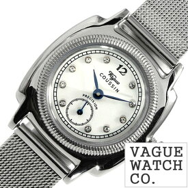 [あす楽]ヴァーグウォッチ 腕時計 [VAGUE WATCH Co.時計]( VAGUE WATCH Co. 腕時計 ヴァーグ ウォッチ コー 時計 ) クッサン ( COUSSIN ) レディース 腕時計 ホワイト CO-S-006 [ 正規品 人気 流行 ブランド 防水 メタル ベルト おしゃれ ブランド プレゼント ギフト ]