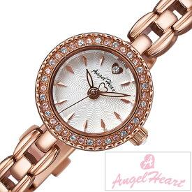 エンジェルハート 腕時計 [AngelHeart時計]( AngelHeart 腕時計 エンジェルハート 時計 ) エターナルクリスタル ( Eternal Crystal ) 腕時計 ホワイト ET21PS [メタル ベルト 正規品 ハート ブレス ウォッチ かわいい ピンクゴールド クリスタル ストーンおしゃれ ]
