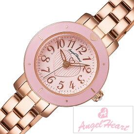 エンジェルハート 腕時計 [AngelHeart時計]( AngelHeart 腕時計 エンジェルハート 時計 ) スィートテンダー ( Sweet Tender ) レディース 腕時計 ピンク ST23PP [メタル ベルト 正規品 ハート ブレス ウォッチ かわいい ピンクゴールド スウィートテンダー 防水 ]