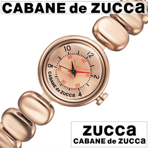 カバンドズッカ 腕時計 [CABANEdeZUCCA時計]( CABANE de ZUCCA 腕時計 カバン ド ズッカ 時計 ) コーヒー ビーンズ ( Coffee Beans ) レディース 腕時計 ピンク AJGK074 [メタル ベルト 正規品 SEIKO ブレス ウォッチ ローズ ゴールド][ プレゼント ギフト]
