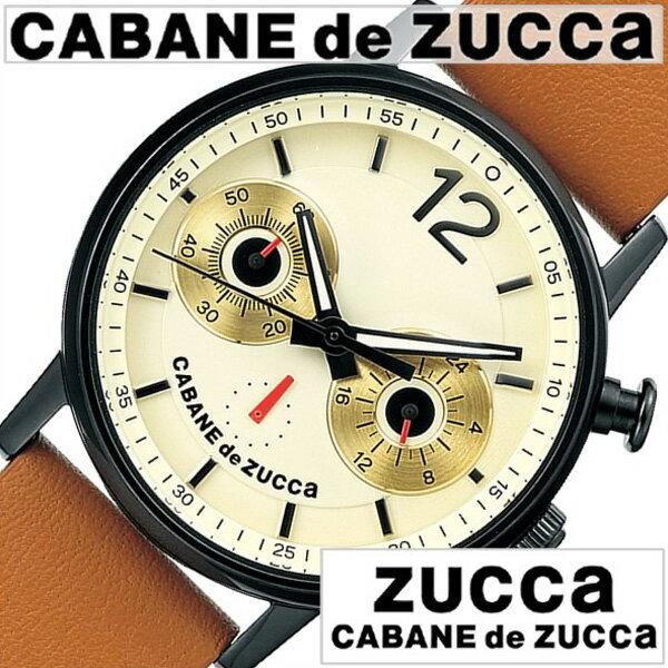 カバンドズッカ腕時計 フクロウル ZUCCA時計 CABANE de ZUCCA 腕時計 カバンド ズッカ 時計 メンズ レディース ホワイト AJGT013 [新作 人気 正規品 ブランド 防水 革 レザー ベルト SEIKO セイコー ギフト プレゼント ブラック ブラウン][おしゃれ 腕時計]
