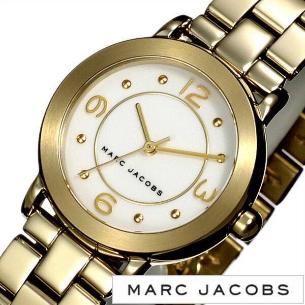 マークジェイコブス腕時計 MARCJACOBS時計 MARC JACOBS 腕時計 マーク ジェイコブス 時計 ライリー RILEY レディース ホワイト MJ3473 [人気 新作 流行 ブランド 防水 メタル ベルト ギフト プレゼント ゴールド][おしゃれ 腕時計]