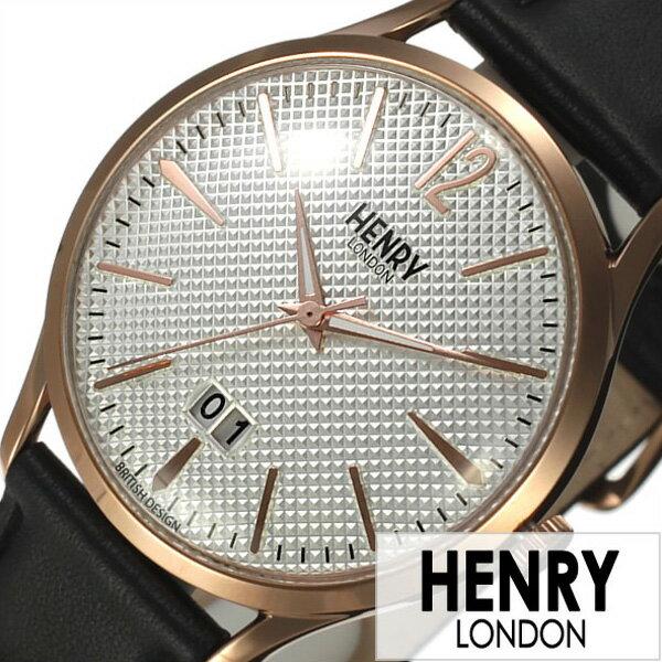 \27%OFF/ヘンリーロンドン 腕時計 HENRYLONDON時計 HENRY LONDON 腕時計 ヘンリー ロンドン 時計 リッチモンド メンズ レディース ホワイト HL41-JS-0038 [ ペアウォッチ 人気 新作 ブランド イギリス シンプル ベルト ブラック ピンクゴールド プレゼント ギフト ]