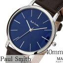 ポールスミス腕時計 paul smith時計 paulsmith 腕時計 ポールスミス 時計 エムエー MA メンズ/ネイビー P10091 [新作/…