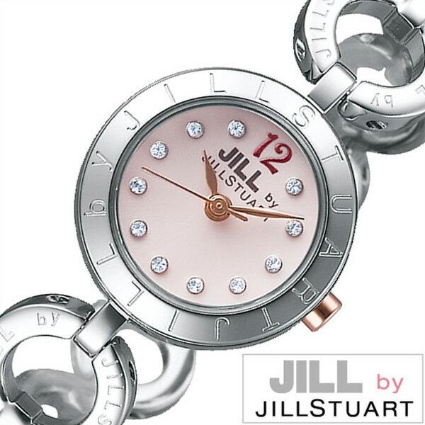 ジルバイジルスチュアート腕時計 JILLbyJILLSTUART時計 JILL by JILLSTUART 腕時計 ジル バイ ジルスチュアート 時計 レディース ピンク NJAR002 [新作 人気 正規品 ブランド 防水 メタル シルバー][おしゃれ 腕時計]