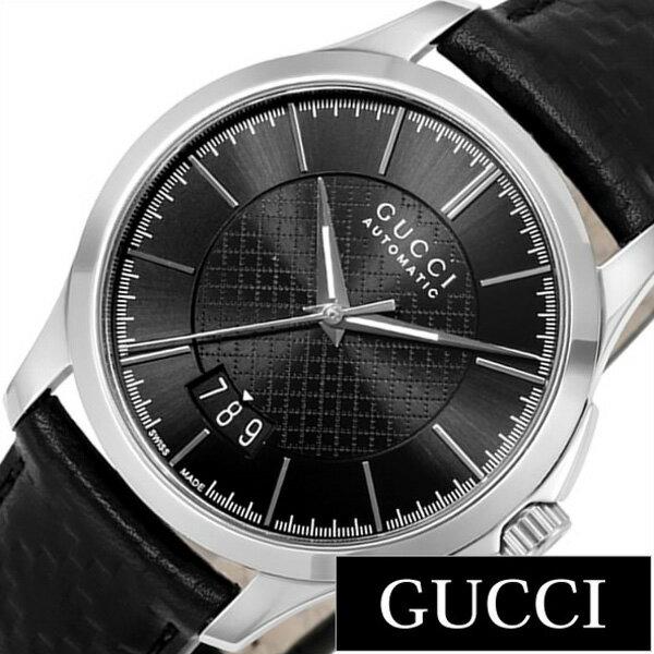 グッチ腕時計 GUCCI時計 GUCCI 腕時計 グッチ 時計 Gタイムレス G Timeless メンズ ブラック YA126430 [新作 人気 ブランド 防水 高級 おすすめ ファッション プレゼント ギフト 革 レザー ブラック][おしゃれ 腕時計]