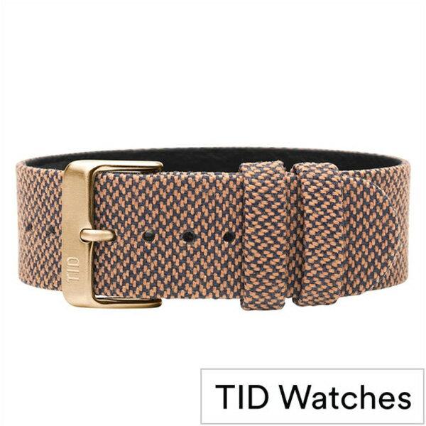 ティッドウォッチ時計ベルト TIDWatches TID Watches 時計ベルト ティッド ウォッチ メンズ レディース TID-BELT-GD-RUST [ 正規品 替えベルト 付け替え 交換 ベルト 腕時計 革 レザー ストラップ バンド ブラウン][ おしゃれ ブランド 防水 ]