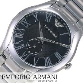 [当日出荷] エンポリオアルマーニ腕時計 EMPORIOARMANI時計EMPORIO ARMANI 腕時計 エンポリオ アルマーニ 時計 バレンテ VALENTE メンズ ブラック AR11086 [アナログ ブランド エンポリ EA メタル ビジネス ギフト プレゼント ] 誕生日