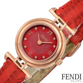 [当日出荷] フェンディ腕時計 FENDI時計 FENDI 腕時計 ブランド フェンディ 時計 モダ MODA レディース レッド F275277BD [スイス製 イタリア ギフト プレゼント 新作 人気 ファッション レザー 革] 誕生日