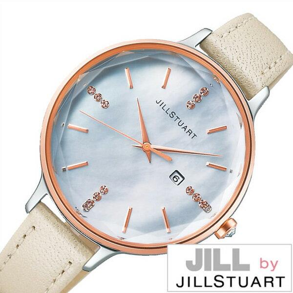 ジルバイジルスチュアート腕時計 JILLbyJILLSTUART時計 JILL by JILLSTUART 腕時計 ジル バイ ジルスチュアート 時計 レディース ホワイト NJAT002 [正規品 人気 ブランド プレゼント ギフト 革 レザー ベルト ソーラー スワロフスキー かわいい ホワイト]