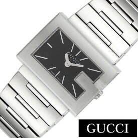 a62a7b3445bb グッチ腕時計 GUCCI時計 GUCCI 腕時計 グッチ 時計 Gレクタングル G-RECTANGLE レディース ブラック YA100519