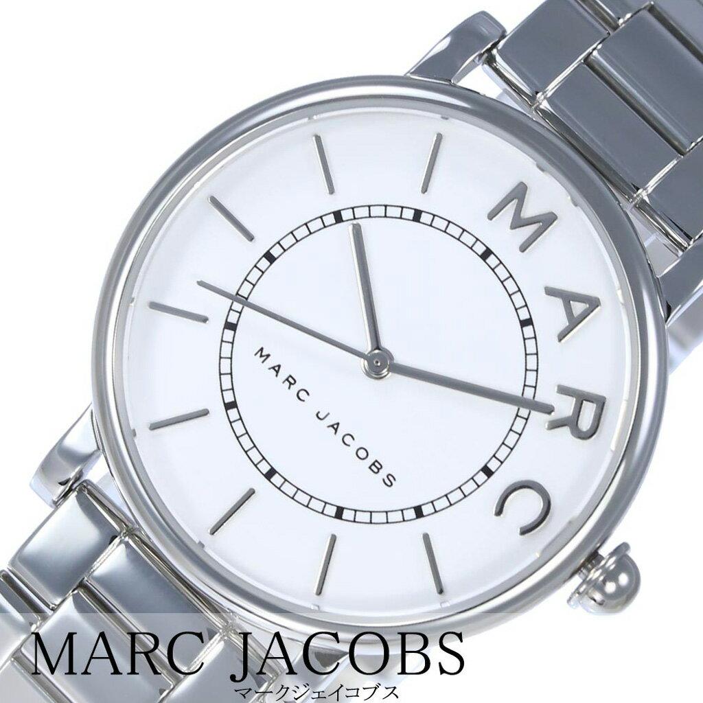 \Xmasセール中/マークジェイコブス腕時計 MARCJACOBS時計 MARC JACOBS 腕時計 マーク ジェイコブス 時計 ロキシー Roxy レディース 女性 向け 妻 彼女 ホワイト MJ3521 [ ブランド シルバー 人気 シンプル ラウンド かわいい おしゃれ プレゼント ギフト ][送料無料]