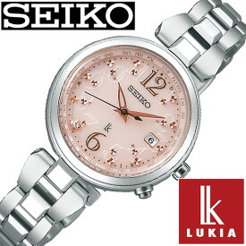 【セール 割引 価格】(21200円引き)(26%OFF)セイコー ルキア 腕時計 レディース ソーラー 電波 セイコールキア腕時計 SEIKOLUKIA時計 SEIKO LUKIA 腕時計 ルキア時計 ピンク SSQV047 [ ダイヤ シンプル ラウンド カレンダー ビジネス ファッション カジュアル かわいい ]
