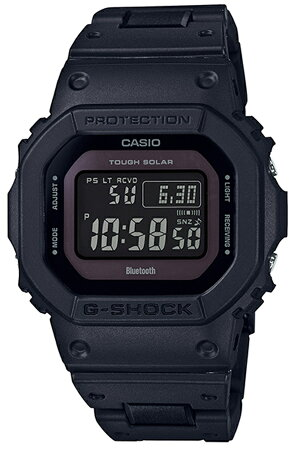 カシオ腕時計CASIO時計CASIO腕時計カシオ時計ジーショックG-SHOCKメンズブラックCASIO-GW-B5600BC-1BJF[Gショックブランド防水ファッションデジタルDW-5600アラームストップウォッチ頑丈人気アプリソーラー電波時計ギフトプレゼント][送料無料]