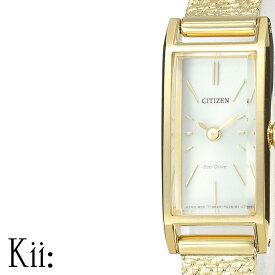 [ポイント10倍] Kii シチズン 時計 シチズン腕時計 CITIZEN時計 CITIZEN 腕時計 キー レディース シルバー EG7042-52A [ 正規品 エコ・ドライブ シンプル 人気 ブランド プレゼント ギフト アナログ カレンダー ファッション カジュアル ビジネス ]PT10