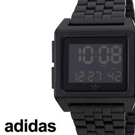 [あす楽]アディダス腕時計 adidas時計 adidas 腕時計 アディダス 時計 アーカイブエム1 ARCHIVE_M1 ペアウォッチ ブラック 黒 Z01-001-00 [ ブランド お洒落 おすすめ スクエア 四角 韓国 ストリート プレゼント ] 誕生日 冬