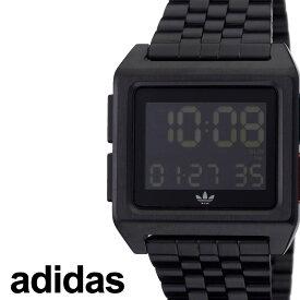 アディダス腕時計 adidas時計 adidas 腕時計 アディダス 時計 アーカイブエム1 ARCHIVE_M1 メンズ レディース ペアウォッチ ブラック 黒 Z01-3042-00 [ ブランド お洒落 おすすめ スクエア 四角 韓国 ストリート ] 新生活 プレゼント ギフト
