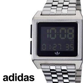 アディダス腕時計 adidas時計 adidas 腕時計 アディダス 時計 アーカイブエム1 ARCHIVE_M1 メンズ レディース ペアウォッチ ブラック 黒 Z01-3043-00 [ ブランド 人気 おすすめ シンプル スクエア 四角 韓国 ファッション ストリート ] プレゼント ギフト
