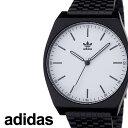 【父の日ギフト】アディダス腕時計 adidas時計 adidas 腕時計 アディダス 時計 プロセスエム1 Process_M1 カップル 彼女 彼氏 男性 女性 メンズ レディース 白 Z02-005-00 [ ブランド お洒落 ラウンド シンプル ステンレス ファッション ストリート プレゼント ギフト ]