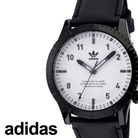 アディダス腕時計 adidas時計 adidas 腕時計 アディダス 時計 サイファーエルエックス1 CYPHER_LX1 カップル 彼氏 男性 メンズ ホワイト Z06-005-00 [ ブランド 革ベルト レザー お洒落 ラウンド シンプル ビジカジ カジュアル ] 新生活 プレゼント ギフト