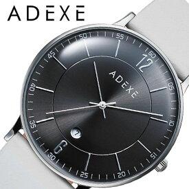 [あす楽]アデクス腕時計 ADEXE時計 ADEXE 腕時計 アデクス 時計 メンズ ブラック 2046B-T03 [ 正規品 人気 ブランド おすすめ 防水 革ベルト レザー カレンダー おしゃれ ファッション かっこいい 彼氏 旦那 プレゼント シンプル カジュアル 仕事 大人 大学生 学生 ]