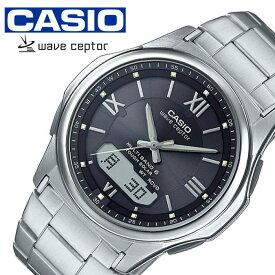[あす楽]カシオ腕時計 CASIO時計 CASIO 腕時計 カシオ 時計 ウェーブセプター WAVE CEPTOR メンズ ブラック WVA-M630D-1A4JF [ ブランド 正規品 防水 電波時計 ソーラー カレンダー おしゃれ プレゼント ギフト ]