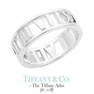 [当日出荷] ティファニー アトラス リング【JP 11号】Tiffany&co The Tiffany Atlas collection レディース 30398769 [ 誕生日 女性 ブランド おしゃれ シンプル 指輪 ペアリング シンプル シルバー925 ] TRG 成