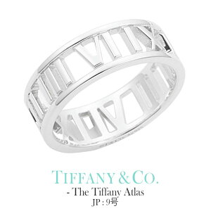 [当日出荷] ティファニー アトラス リング【JP 9号】Tiffany&co ジュエリー The Tiffany Atlas collection レディース 30398963 [ 誕生日 プレゼント 女性 ブランド ギフト おしゃれ シンプル 指輪 ペアリン