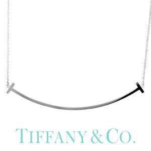 [当日出荷] Tスマイル ( 18金 金属アレルギー 安心 ) Tiffany&co ネックレス TIFFANY ティファニー Tiffany T レディース シンプル 34775346 [ 女性 彼女 誕生日 おしゃれ Tコレクション K18 ] TNE 成人式 新